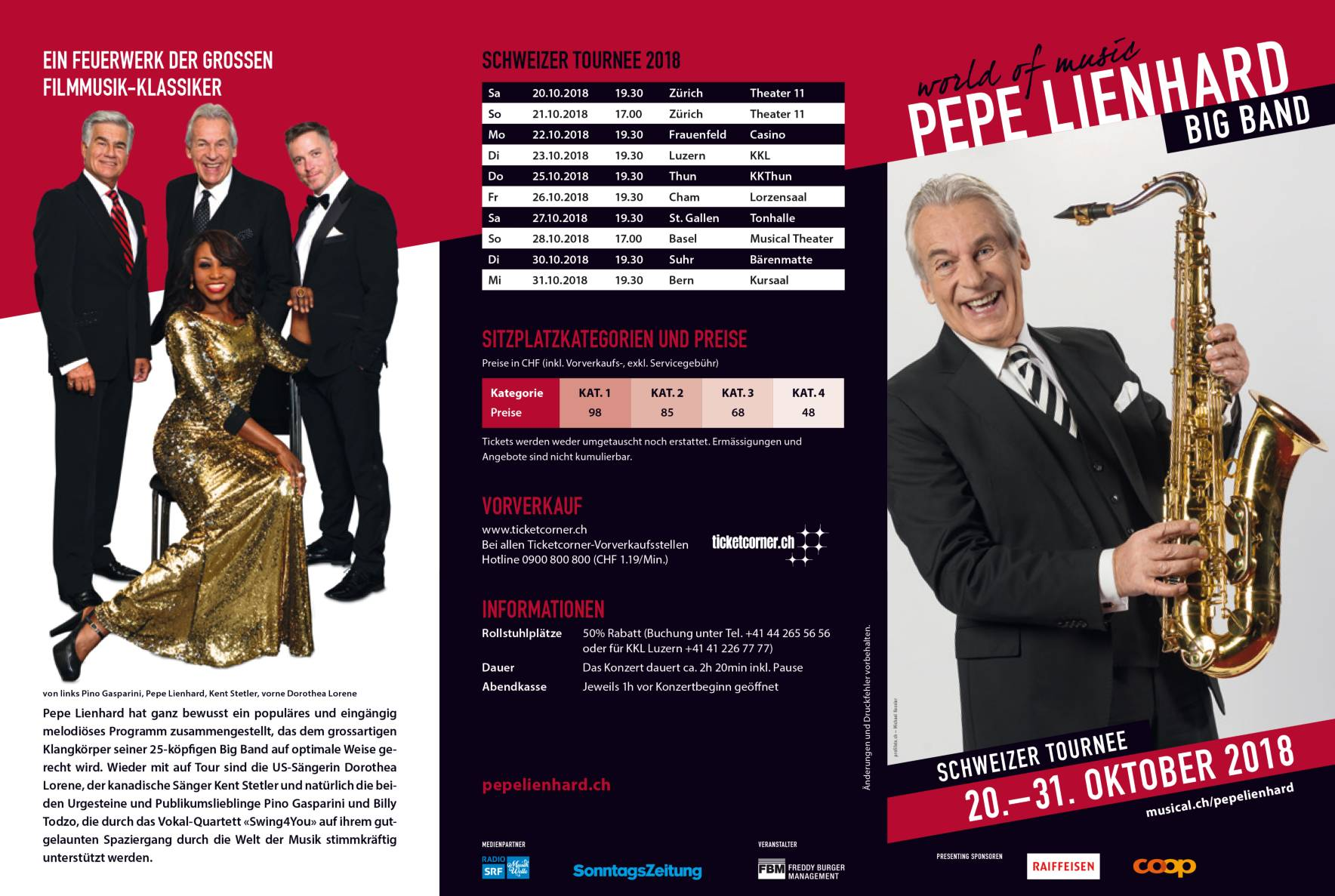 Pepe Lienhard Big Band Tournee